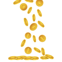 The gallery for --> Raining Coins Png